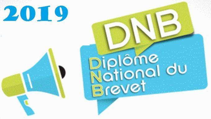RESULTATS DNB 2019