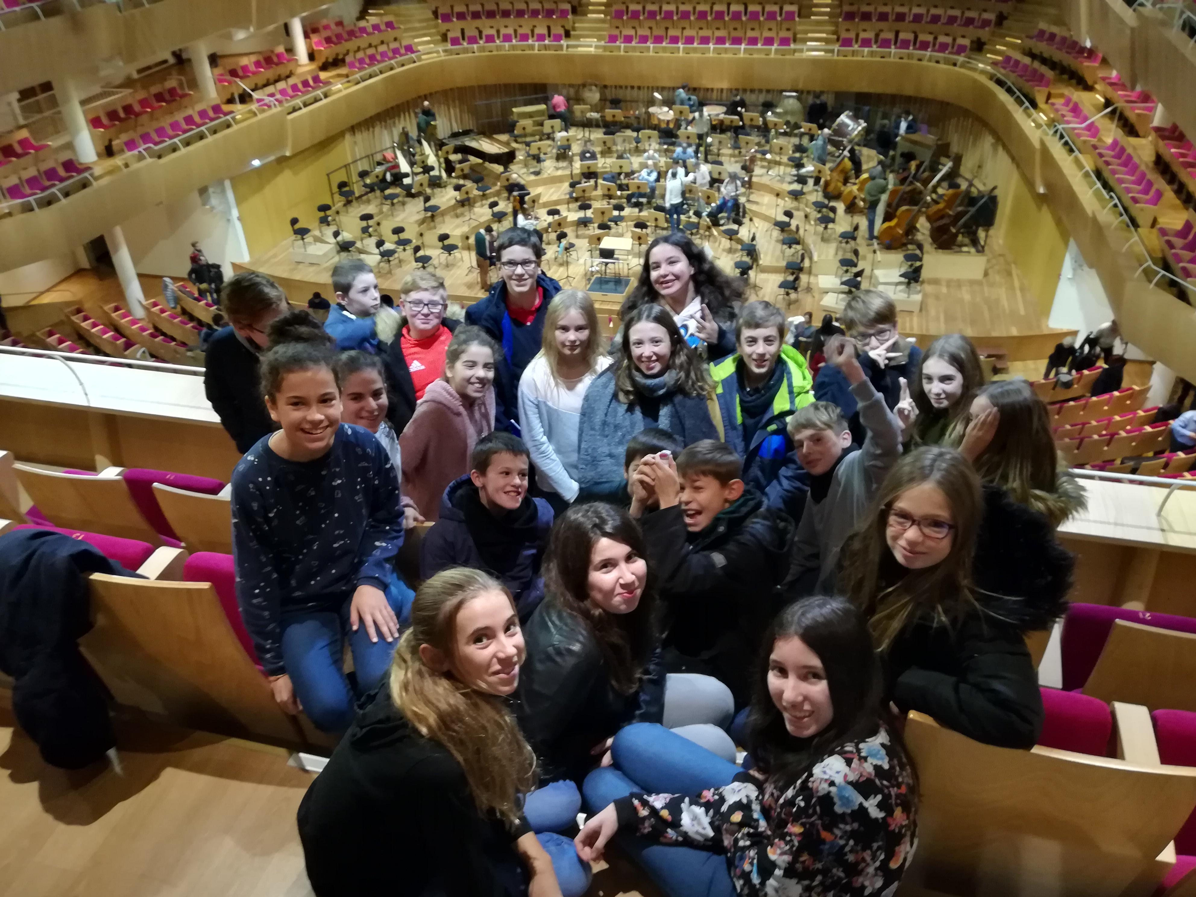 Reprise de Vegedream et orchestre symphonique – retour sur l'année musicale des 5eI