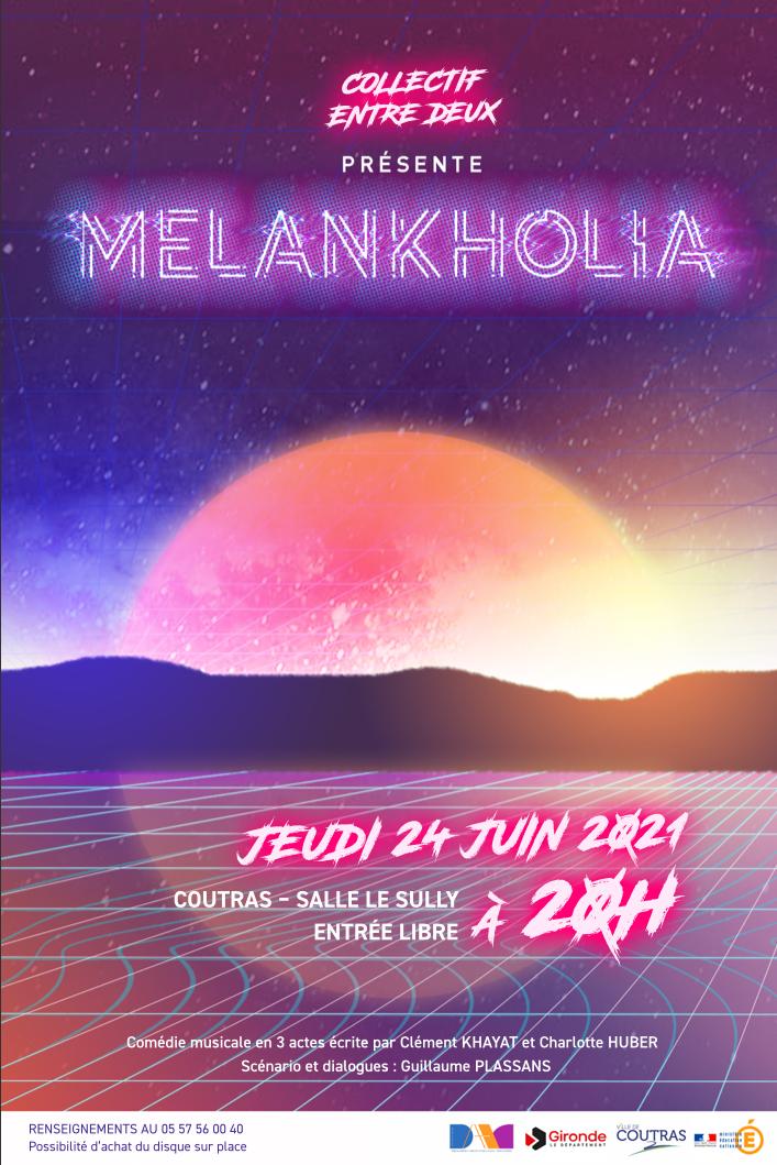 «MELANKHOLIA» la comédie musicale du collège au Sully le 24 juin à 20h